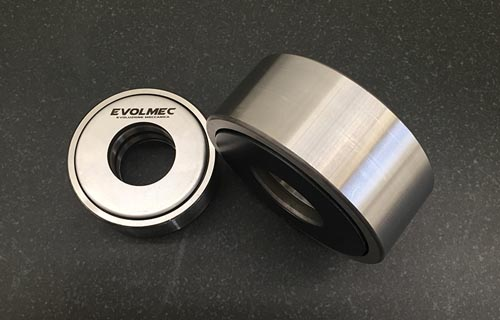 EVOLMEC back-up rollers - Cuscinetti di back-up