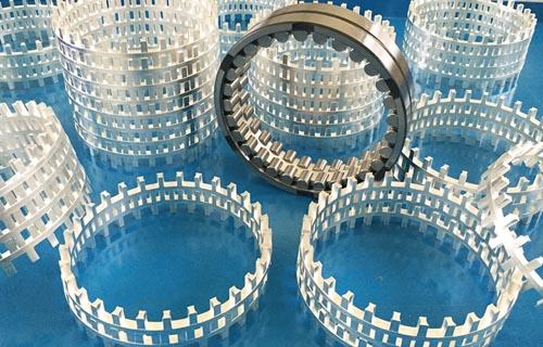 Cuscinetti volventi per colli di cilindri di laminazione