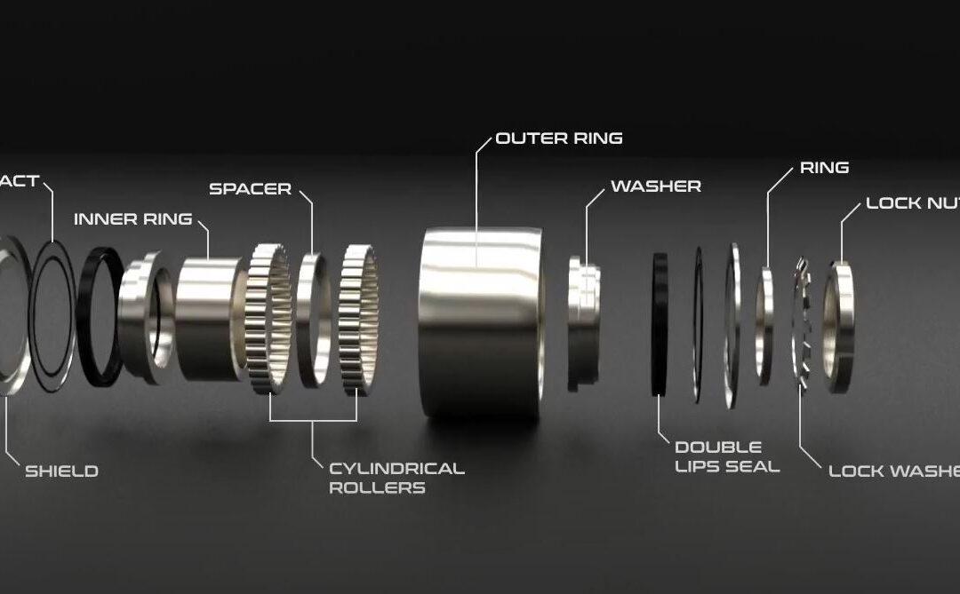 [VIDEO] Rodamiento de apoyo de acero inoxidable con eje